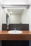 Sink in bathroom Stock Photos
