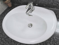 Sink in the bathroom Royalty Free Stock Image