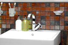 Sink detail Royalty Free Stock Image