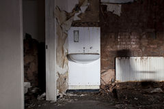 Sink dirty royalty free stock images