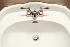 Sink and faucet Royalty Free Stock Photos