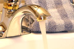 Sink faucet Stock Image