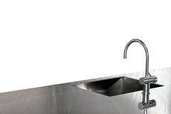 Sink and faucet Stock Photos