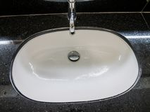 Sink and faucet Royalty Free Stock Photo