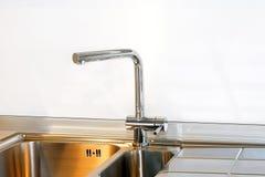 Sink fixture Stock Photo