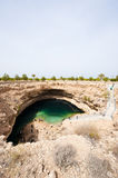 Sink hole, Oman Royalty Free Stock Image