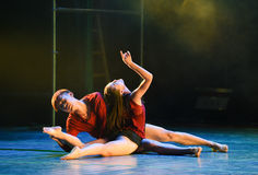 Sink into-Modern dance Royalty Free Stock Image