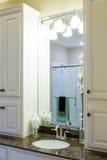 Sink in Modern Granite Countertop Royalty Free Stock Image
