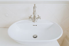Sink with old style tap Stock Images
