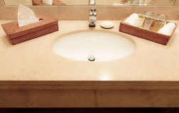 Sink and other accessories Stock Images
