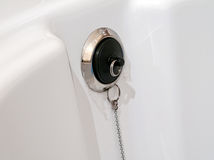 Sink plug Royalty Free Stock Photography