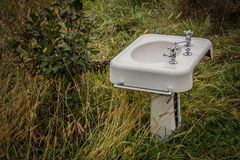 Sink in the Woods Royalty Free Stock Photography