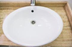 Sink in restaurant Stock Images