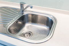Sink and water tab Stock Photo