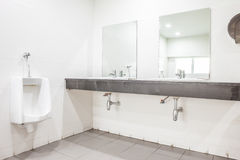 Sink whit mirror Royalty Free Stock Images