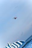 Sinkende Kreuzschiff Costa Concordia, Lizenzfreie Stockfotografie