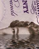 Sinkendes Pound Lizenzfreie Stockbilder