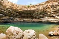 Sinkhole Bimmah Oman Stock Image