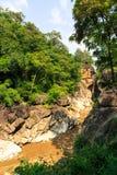 Sinkhole van de rotskreek Stock Afbeelding