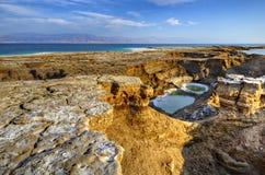 Sinkholes em Israel fotos de stock