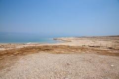 Sinkholes no Mar Morto Foto de Stock Royalty Free