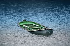 Sinking boat Stock Photography