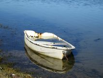 Sinking Boat. Royalty Free Stock Images