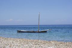 Sinking boat Royalty Free Stock Photo