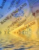 Sinking economy Stock Image
