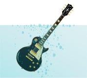Sinking Guitar Royalty Free Stock Photo