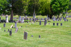Sinking Spring Cemetery, Abington, Virginia Stock Images