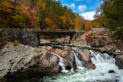 The Sinks. In fall colors, the great smoky mountains national park stock photo