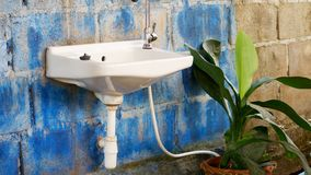 Sinks that are old royalty free stock images