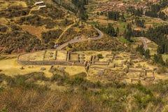 Sinkunakancha Tipon rujnuje Cuzco Peru Obraz Royalty Free