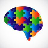 Sinnespuzzlespiel Stockbild