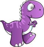 Sinnessjuk dinosaurievektor Arkivbild