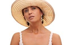 Sinnliche italienische Dame Lizenzfreies Stockfoto