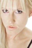 Sinnliche junge Blondine Stockfotos