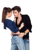 Sinnliche junge Paare Stockbilder