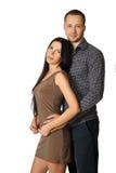 Sinnliche Paare in der Liebe Lizenzfreies Stockfoto