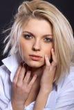 Sinnliches blondes Lizenzfreies Stockfoto