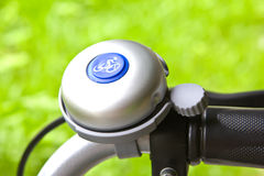 Sino da bicicleta imagem de stock