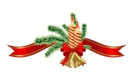 Sino de Natal Imagens de Stock