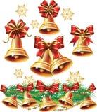 Sino de Natal ilustração royalty free