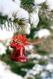 Sino de Natal Imagem de Stock