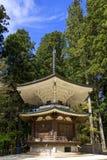 Sino do templo em Mount Koya Fotografia de Stock