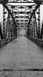 Sino Korean Bridge Stock Photography