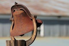 Sino oxidado Imagens de Stock