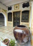 Sino portugiesische (Kolonial) Architektur in Phuket Stockbild