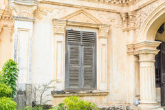 Sino-Portuguese architecture of ancient building in Phuket town. Stock Photography